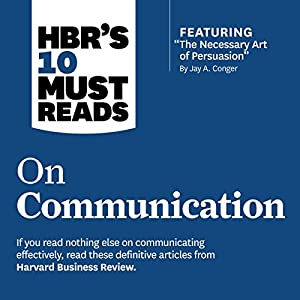 HBR's 10 Must Reads on Communication Hörbuch