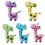 1x Cute Giraffe Soft Plush Toy Animal...