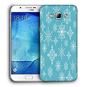 Snoogg Blue Spring Printed Protective Phone Back Case Cover For Samsung Galaxy Note 5