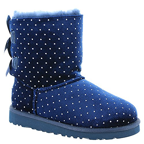 UGG174; Bailey Bow Starlight Girls' Toddler-Youth Boot 2 M US Little Kid Navy (Blue Bow Uggs compare prices)
