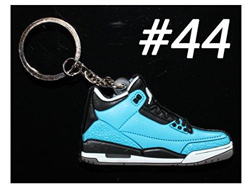 One Stop Discount Shop® - Air Jordan 3 Basketball Jumpman Key Chain in Blue Black