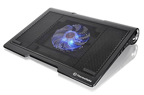 Thermaltake MASSIVE SP Dual Built-in Speaker 140mm LED Fan Gaming Laptop Notebook Cooling Pad (Gaming Cooling Pad 15 compare prices)