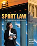 Sport Law: A Managerial Appraoch