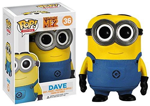 Despicable Me - Dave POP Figure Toy 3 x 4in