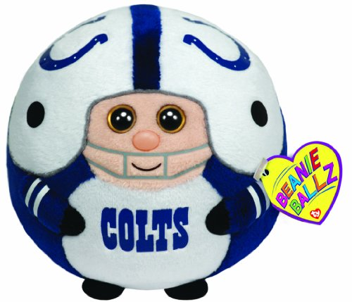 Ty Beanie Ballz Indianapolis Colts - Nfl Ballz back-485889