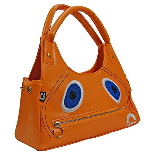Zippy Handbag - Officially licensed bag - what face could be more perfect for a zip? Great conversation starter!