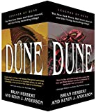 Dune Boxed Mass Market Paperback Set #1: Dune: The Butlerian Jihad, Dune: The Machine Crusade, Dune: The Battle of Corrin