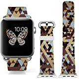 3C-LIFE Iwatch Cute Lovely Band For Apple Watch Sport 38mm Space Aluminum Case With White Sport Band St.patrick... - B01BTR9508