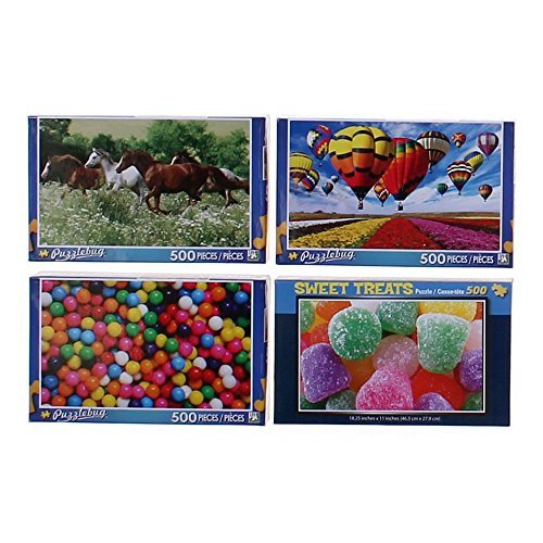 Puzzlebug 500pc. Puzzle-Afternoon Wildflowers and Berries
