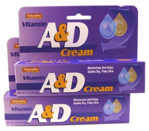 2X Natureplex Vitamin A & D Cream 1.5 Oz Diaper Rash Cuts Burns Chapped Skin front-746167