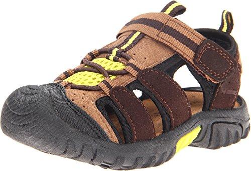 Jumping Jacks Beachcomber Sport Sandal (Toddler/Little Kid/Big Kid),Brown/Chestnut,27 EU (9.5 M US Toddler)