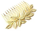 Cinderella Collection By Shining Diva Golden Hair Clip For Girls & Women
