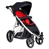 Phil & Teds Verve Single Pushchair Buggy Stroller - Black/Red