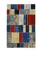 Eden Carpets Alfombra Pacthwork Azul/Rojo/Multicolor 292 x 194 cm
