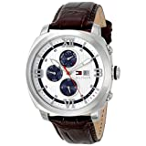 Tommy Hilfiger Men's 1790968 Sport Luxury Multi-Eye Stainless Steel Case Blue Accents Watch