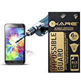 IKare Impossible Tempered Glass Screen Protector For Samsung Galaxy J2 (2.5D ROUND EDGE, REUSABLE, ULTRA CLEAR...