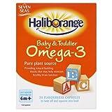 Seven Seas Haliborange Baby & Toddler Omega-3 30 Flavourless Capsules