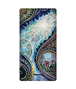 Oriental Spiral Sony Xperia T3 Case