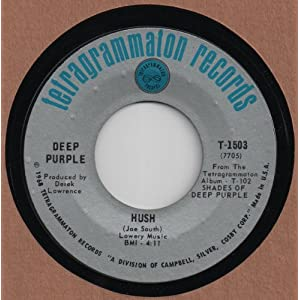 DEEP PURPLE - HUSH 45 RPM