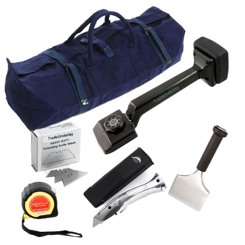 Carpet fitter flooring tool kit - 6 item