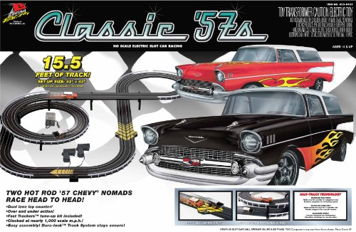 Life Like Classic '57S Electric Race Set - Chevy Nomads
