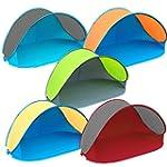 Pop Up Strandmuschel mit Boden UV-Sch...