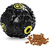 Dog Treat Dispensing Toy, Pets Empire Interactive IQ Treat Training Toy Squeaky Dispenser Ball For Dogs(Color...
