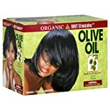 Organic Root Stimulator No-Lye Relaxer, Built-In Protection, Normal, Olive Oil