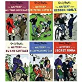 Enid Blyton Enid Blyton - Mysteries set - 6 books: The Mystery of the Burnt Cottage / The Mystery of the Disappearing Cat / The Mystery of the Secret Room / The Mystery of the Spiteful Letters / Of the Missing Necklace / Of the Hidden House collection