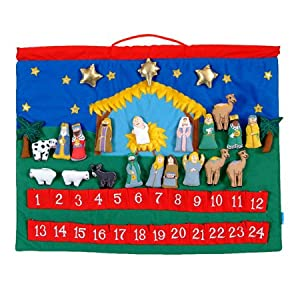Countdown to Christmas: Christmas Story Wall Hanging