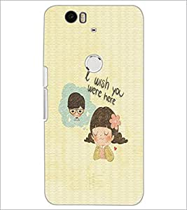 PrintDhaba Quote D-3760 Back Case Cover for HUAWEI NEXUS 6P (Multi-Coloured)
