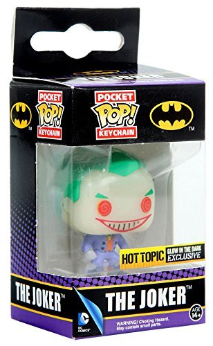 Pocket POP! Keychain The Joke Hot Topic Glow In The Dark Exclusive by POCKET POP