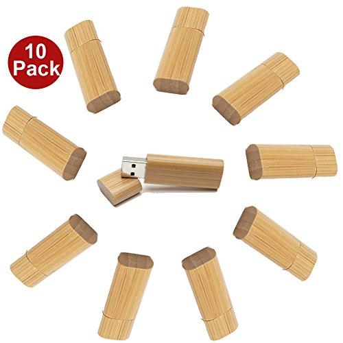 a-plus-10-stuck-32gb-usb-30-speicherstick-aus-bambus-usb-sticks-fur-die-wirtschaftsforderung-10er-pa