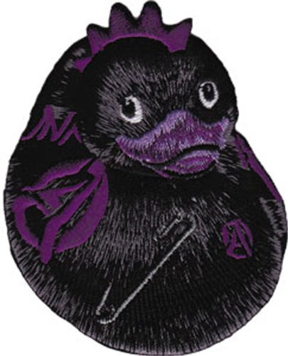 Application Black Punk Duck Patch