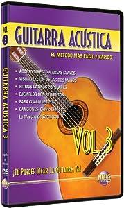 Guitarra Acustica, Vol 3: Tu Puedes Tocar La Guitarra Ya! (Spanish Language Edition) (DVD)