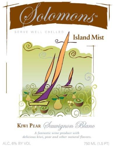 Nv Solomons Island Mist Kiwi Pear Sauvignon Blanc 750 Ml