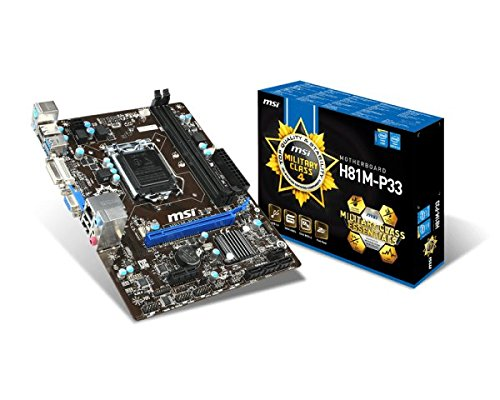 MSI H81-P33 Carte mère Intel ATX Socket 1150