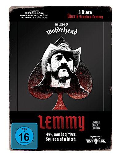 LEMMY - The Movie (Black Edition im LTD Steelbook) [Limited Edition] [3 DVDs]