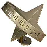 Sun Clock Sundial Finish: French Bronze