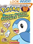 Pokemon Super Sinnoh Sticker Book