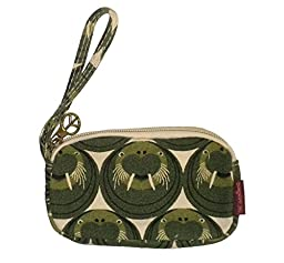 Bungalow360 Womens Canvas Coin Pouch Wallet (Walrus)