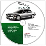 Jaguar XJ8 X350 Workshop and Parts Manual 2003 - 2009.