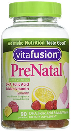 Vitafusion Prenatal, Gummy Vitamins, 90-Count, Assorted Flavors May Vary