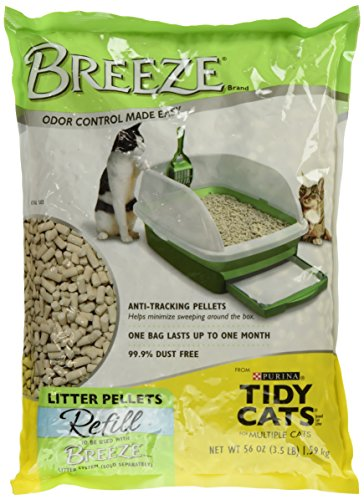 Purina Litter Tidy Cat Breeze Pellets, 3.5 lb (Tidy Breeze Pellets compare prices)