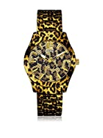 Guess Reloj de cuarzo Woman W0001L2 Leopardo 40 mm