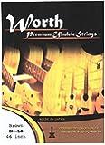 WORTH ワース弦 BM-LG フロロカーボン弦Low-Gセット ソプラノ/コンサート