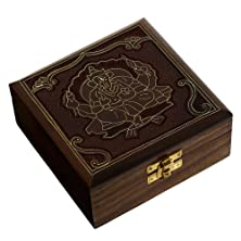 buy Handmade Jewelry Box Wood Carved For Personal Gifts