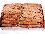 代々木フードマート 赤海老 刺身用 特大サイズ(L1) 業務用 アルゼンチン赤エビ (約30尾)2kg