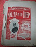 Asleep in the Deep (Baritone or Contralto Solo, in F -- Cover photo of John P. Rogers)