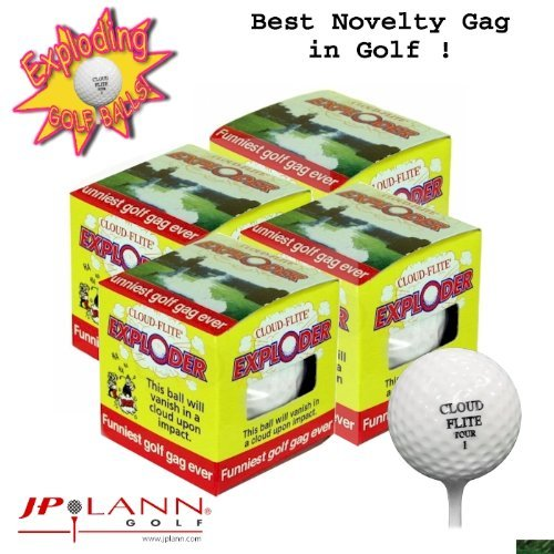 Exploding-Golf-Ball-Four-Pack